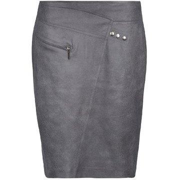 One Two Luxzuz Fabienne Skirt Rock grey