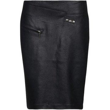 One Two Luxzuz Fabienne Skirt Zwart