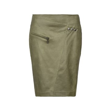 One Two Luxzuz Fabienne Skirt Olive