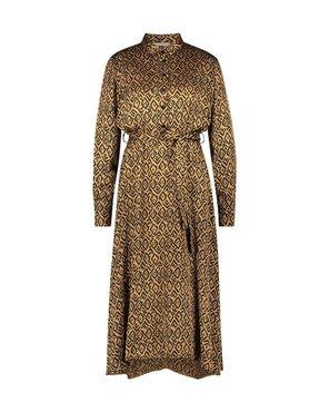 Aaiko Soila Graphic vis 520 Noisette Dress