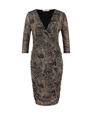 Aaiko Sarone Pes 512 Cashmere Dress