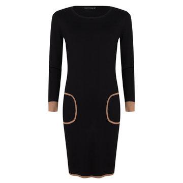 Donna Dura Dress Geraldine ST12-40 Black