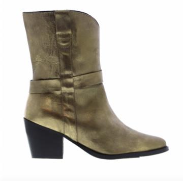 Tango Ella square 11-c old gold boot