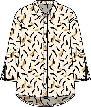 One two luxzuz Ilona Shirt Ocher
