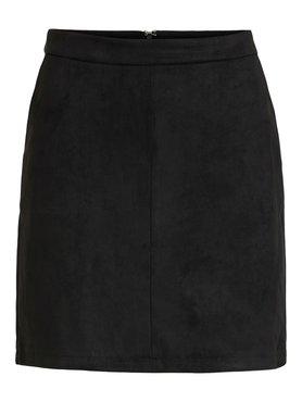 Vila Vifaddy RW Skirt Black