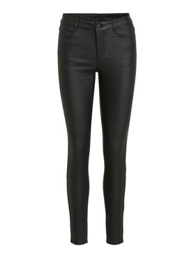 Vila Vicommit Coated RWSK New Pant Black
