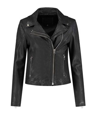 Goosecraft Aaliyah zwart biker jack