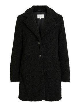 Vila Viliosi Teddy Coat Zwart