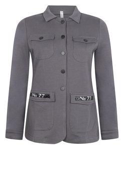 Zoso Myriam Sweat Jacket met rits