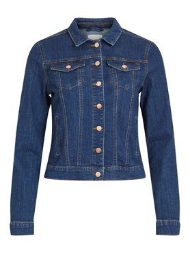 Vila Vishow Denim Jacket Medium Blue Denim