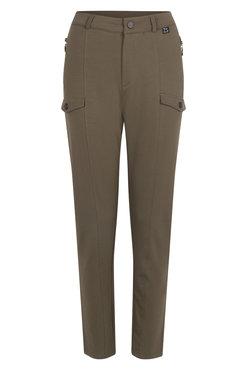 Zoso Force Army Sweater broek met zakken en rits.