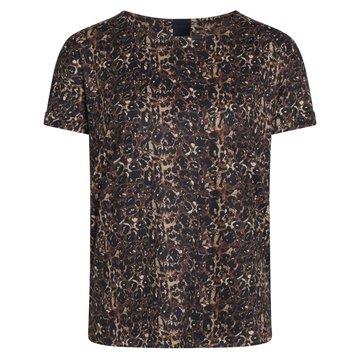 One two luxzuz Karin Leo  t-shirt Brandy