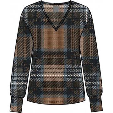 One two luxzuz Vikarin T-Shirt Check Sahara