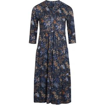 One Two Luxzuz Larisana Dress Night Blue