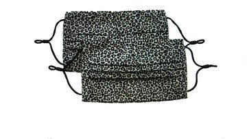 Dayz Marly - 2 mondkapjes Luipaard Beige/Black