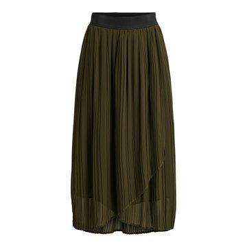 Vila Vitysha Plisse Wrap Skirt