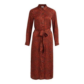 VILA VIRAMDI L/S SHIRT DRESS/OFW