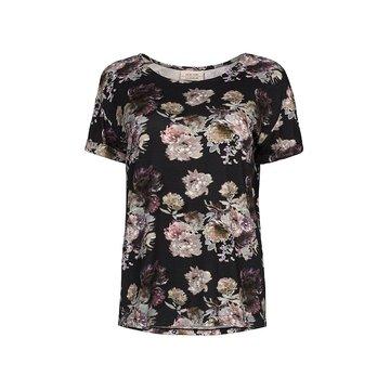 One two luxzuz Karin t-shirt bloemen print