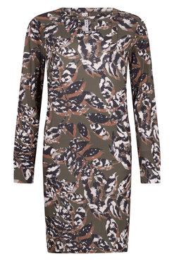 Zoso Anna print jurk Army