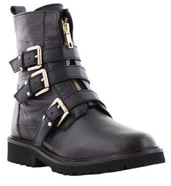 Tango Bee 565-a Zwarte Lederen laarzen