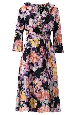 K-Design Midi jurk met bloemen print S128-P164