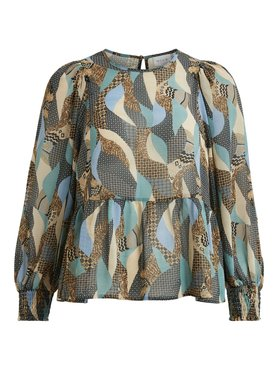 Vila Vimadia l/s top Colony Blue