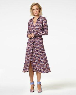 Freebird Dynthe Midi dress long sleeve VI-02