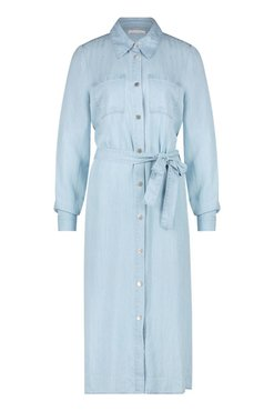 Freebird Midi dress long sleeve TENCEL-01  VICTORIA