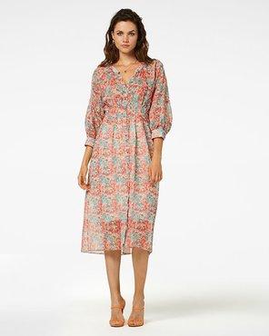 Freebird Midi dress 3/4 sleeve MAE
