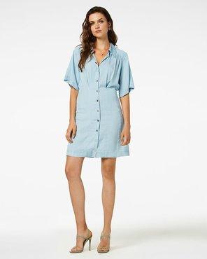 Freebird Mini Dress 3/4 Sleeve Kea