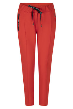 Zoso Hope Sweat pant with techzippers Summer red