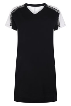Zoso Saskia Sweat dress with print navy