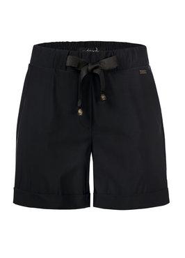 Dayz Arezzo Zwarte korte broek van travel stof