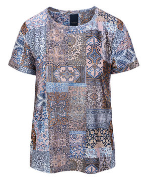 One two luxzuz Karin t-shirt Faded Denim