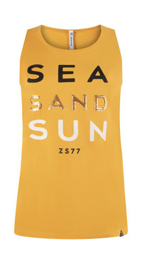Zoso Sun Summergold Sporty top with print