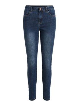 Vila Viskinnie Jeans Medium dark blue denim