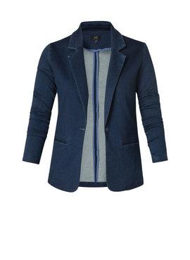 Yest Yolie Essential Blazer Dark Blue Denim