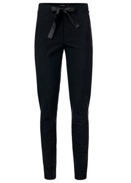 Dayz Edrea - Zwart travel broek met een santijnen