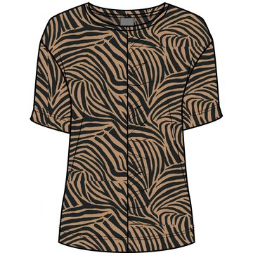 One Two Luxzuz Leni T-Shirt Camel