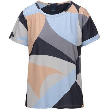 One Two Luxzuz Karin T-Shirt Soft Blue