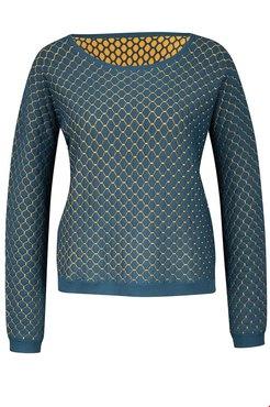 Zilch sweater reversible  Petrol