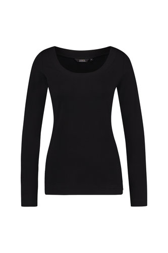 Chiarico Top Ballet Black