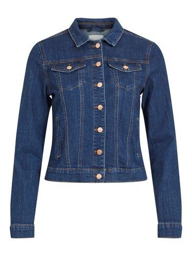 Vila Vishow Denim Jacket Medium Blue Denim