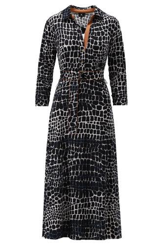 K-Design Maxi jurk met print S884-P179